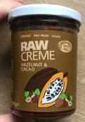 Raw Creme Hazelnut und Cacao Simply Raw