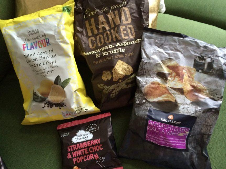 Mal keine Pringles: Interessante Chipssorten und -verpackungen
