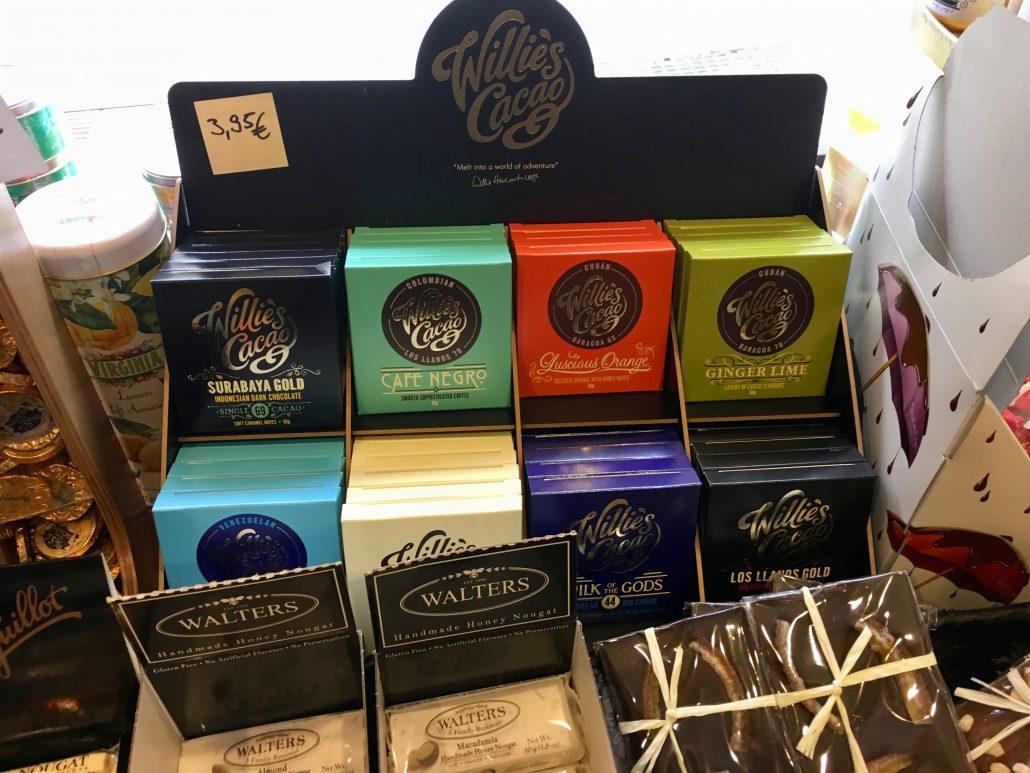 Willies Cacao Minitäfelchen Schokolade