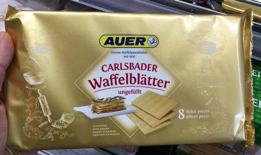 Auer Carlsbader Waffelblätter