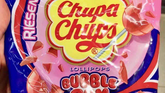 Chupa Chups Riesenlutscher Bubble Gum Lollipops