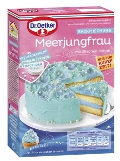 Dr. Oetker Meerjungfrau Backmischung