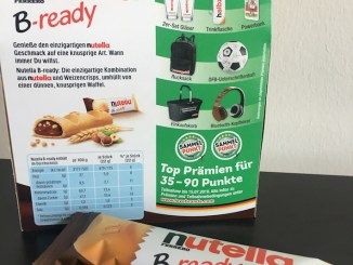 Ferrero B-ready Nutella Punkte