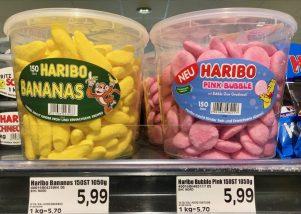 Haribo Bananas Pink Bubble Eimer