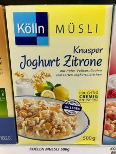 Kölln Müsli Knusper Joghurt Zitrone