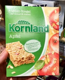 Kornland Müsliriegel Apfel