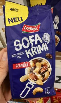 Lorenz Sofa-Krimi Nuss-Frucht-Mix Gesalzen