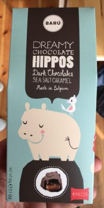 Baru Hippos Dark Chocolates