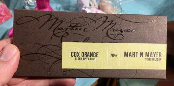 Martin Mayer Cox Orange 70% Schokolade