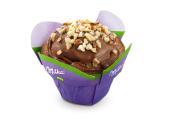 Milka Muffin Haselnuss gebrandet Backware