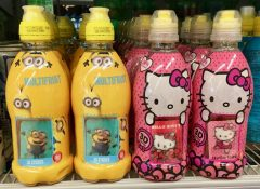 Minions Hello Kitty Drinks
