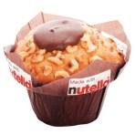 Nutella Muffin gebrandet