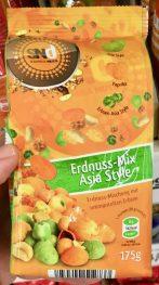 Samba Nuts: Erdnüsse-Mix Asia Style: Erdnuss-Mischung mit ummantelten Erbsen