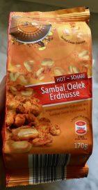 SNd Samba Nuts Sambal Oelek Erdnüsse scharf