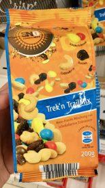 SNd Samba Nuts Trek n Trail Mix Nuss-Frucht-Mischung mit schokolierten Erdnüssen