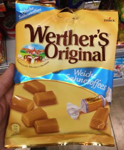 Storck Werthers Original SAhnetoffees Kuhbonbons