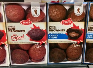 Tims Mini-Brownies Das Original