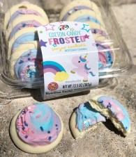 7Select Cotton Candy Frosted sugar Cookies Einhorn