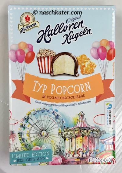 Halloren Kugeln Typ Popcorn Jahrmarkt-Süßigkeiten