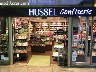 Hussel Ladengeschäft im Kölner Hauptbahnhof
