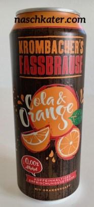 Krombacher Faßbrause Cola+Orange Dose