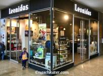 Leonidas Süßwarenkette im Kölner Hauptbahnhof