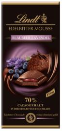 Lindt Edelbitter Mousse Blaubeer-Lavendel Schokolade