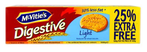 McVities Digestive Light Kekse