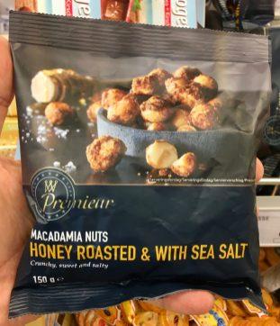 Premiear macadamia Nuts Honey roasted with Sea Salt