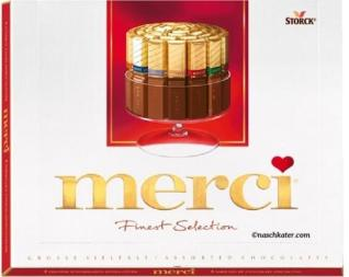 Perfekt als Arzt-Geschenke: Storck Merci Finest Selection