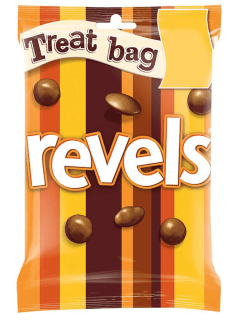 Treat bag revels