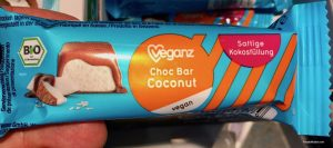 veganz choc bar coconut