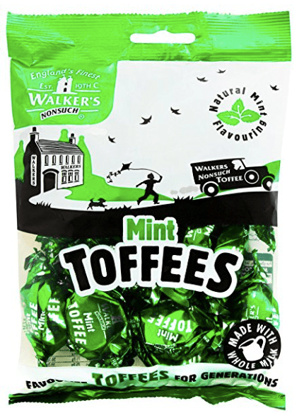 Walkers Mint Toffees