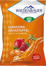 Wiedenbauer Sanddorn-Granatapfel Gefüllte Bonbons