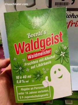 Boente's Waldgeist Waldmeister Eis mit Alkohol
