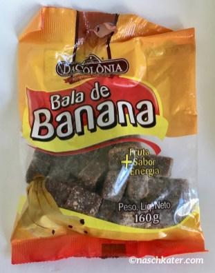 DaColonia Bala de Banana Zucker-Banane-Schoko-Würfel aus Brasilien