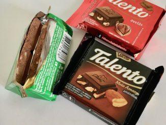 Garoto Talento Schokolade Braslien Ritter Sport offen