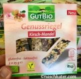 Aldi GutBio Genussriegel Kirsch-Mandel