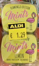 Mints Pastillen Lemon Flamingo Edition