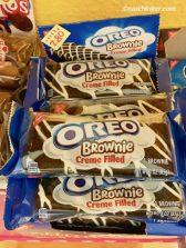 Nabisco Oreo Brownie Creme Filled