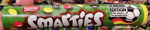 Nestle Smarties Sonderedition Fußball-WM