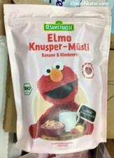 Sesamstraße Elmo Knusper-Müsli Banane + Himbeere