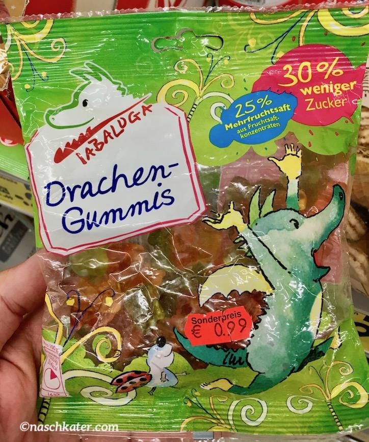 Tabaluga Drachengummis 30% weniger Zucker