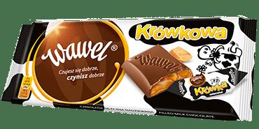 Wawel Krowkowa Tafelschokolade mit Karamell