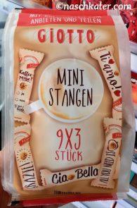 Ferrero Giotto Mini Stangen 9 x 3 Stück GRoßgebinde