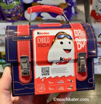 Ferrero Kinder Überraschungsei Travel Bag Blechkoffer