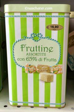 Fruttine Fruchtgelee Schmuckdose