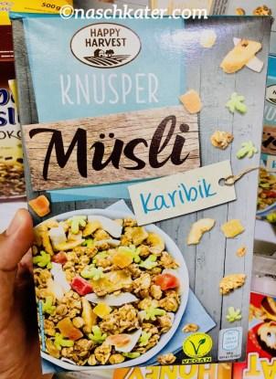 Happy Harvest Knusper Müsli Karibik