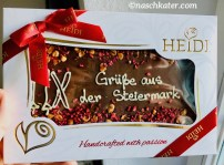 Heidi handcrafted with passion Tafel Schokolade