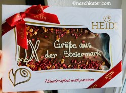 Heidi handcrafted with passion Tafel Schokolade